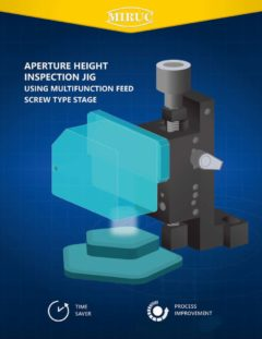 Aparture Height Inspection Jig